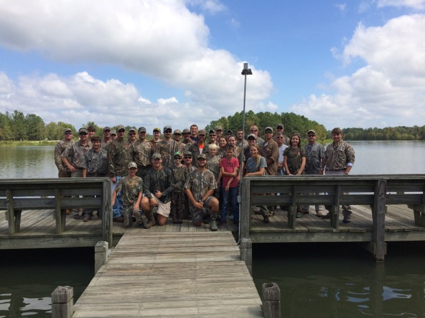 Camp Woodie youth hunts offer fellowship and family fun
