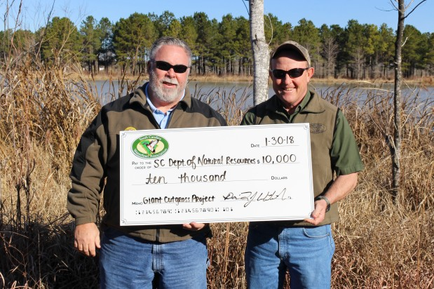 Santee Cooper Lakes Giant Cutgrass Control Project