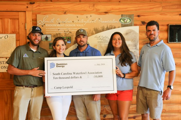 "SCWA's ""Camp Leopold"" receives grant from Dominion Energy"