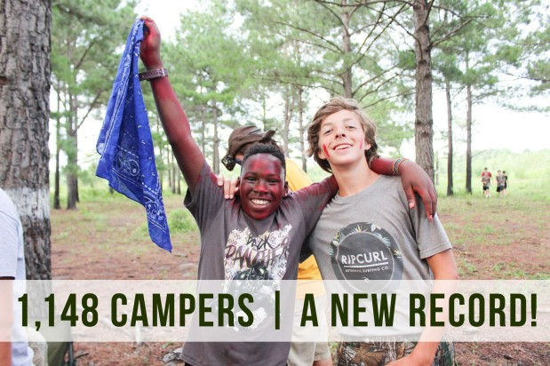 Camp Woodie shatters attendancerecord